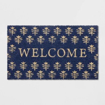 18 X30  Tree Doormat Blue - Opalhouse™