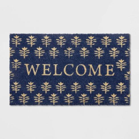 "18""X30"" Tree Doormat Blue - Opalhouse™ - image 1 of 3"