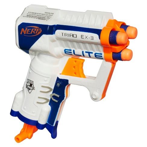 NERF N-Strike Elite Triad EX 3 Blaster - image 1 of 2