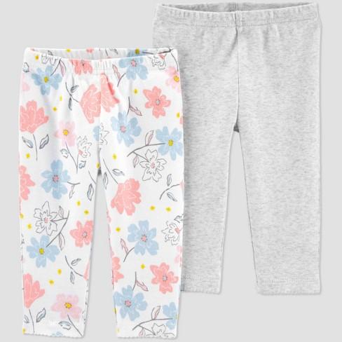 Girls Printed Leggings 3M, Floral
