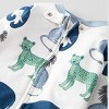 Baby Boys' Animals Sleep N' Play - little planet by carter's White/Blue - image 2 of 3