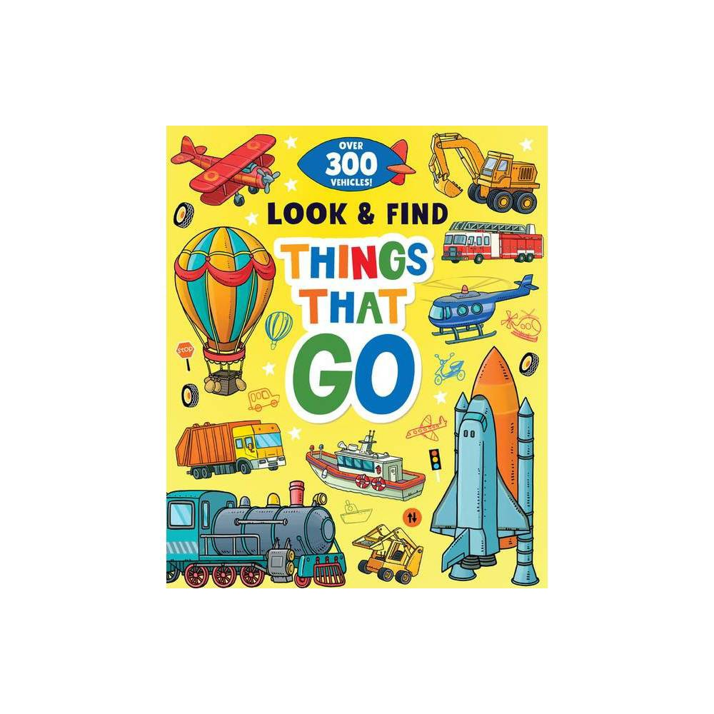 Things That Go Look Find Hardcover