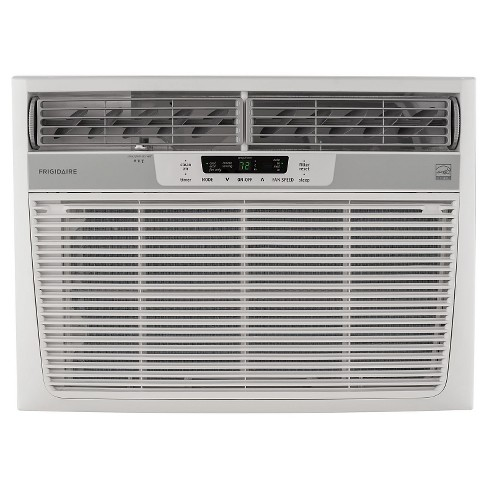 Frigidaire - 15100-BTU 115V Window-Mounted Median Air Conditioner with Temperature Sensing Remote - White - image 1 of 4