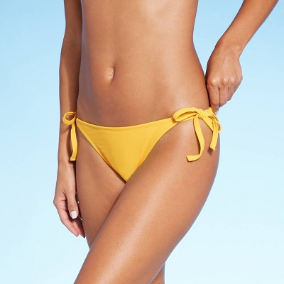 Women's Side-Tie Cheeky Bikini Bottom - Shade & Shore™