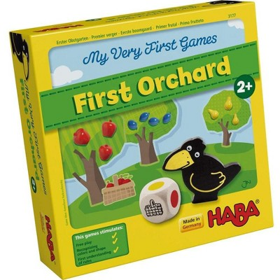 HABA My Very First Games - First Orchard Cooperative Board Game (Made in Germany)