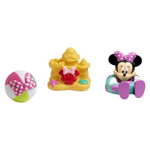 Disney Minnie Mouse Squirtee Toys 3pk - image 1 of 4