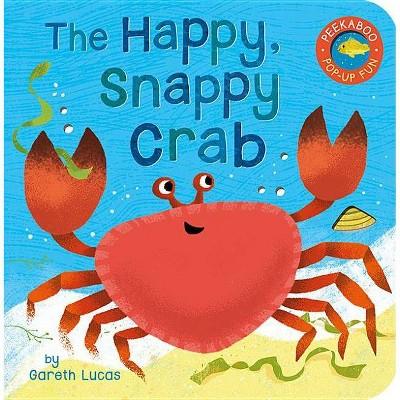 The Happy Snappy Crab - (Peekaboo Pop-Up Fun)(Board_book)