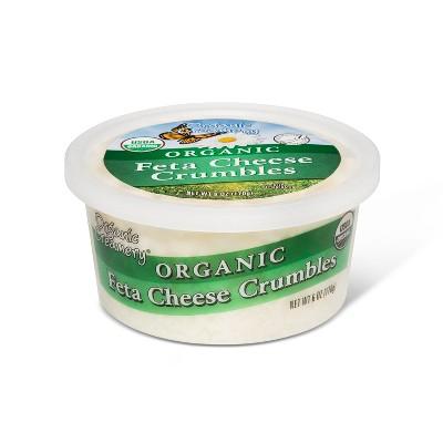 Organic Creamery Feta Cheese Crumbles - 6oz