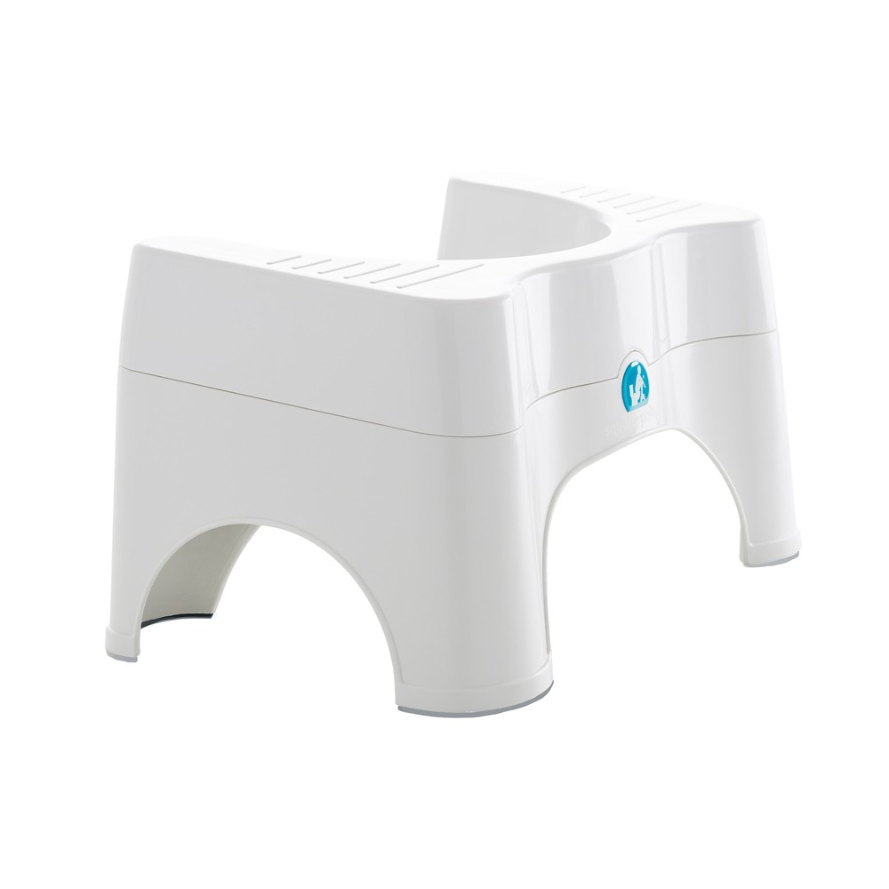 Plastic Adjustable Toilet Step Stool 2.0 White - Squatty Potty