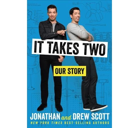It Takes Two : Our Story (Hardcover) (Jonathan Scott & Drew Scott) - image 1 of 1