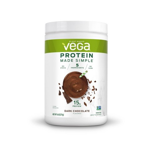 Vega Made Simple Protein Powder - Dark Chocolate - 9.6oz - image 1 of 4