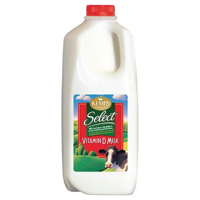 Kemps Whole Milk - 0.5gal