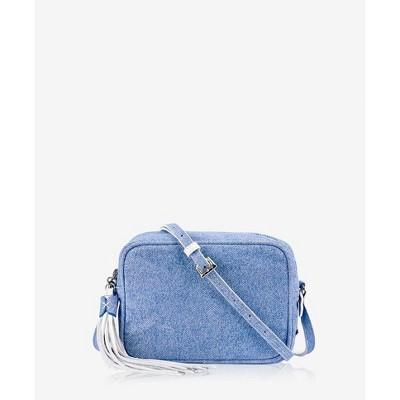 GiGi New York Blue Madison Crossbody Bag