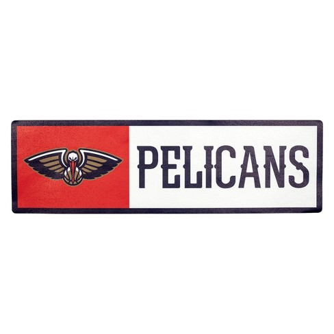 NBA New Orleans Pelicans Outdoor Step Decal