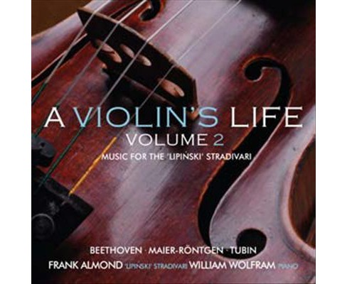 Frank almond - Violin's life:Vol 2 music for the lip (CD) - image 1 of 1