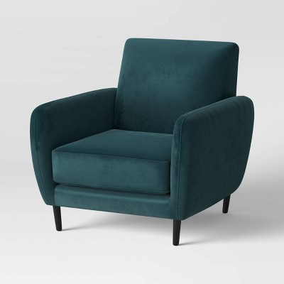 Velvet Armchair Green - Project 62™