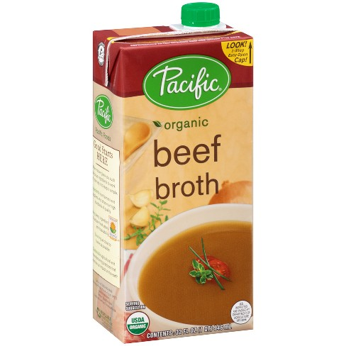 Pacific Foods Organic Beef Broth 32oz Target