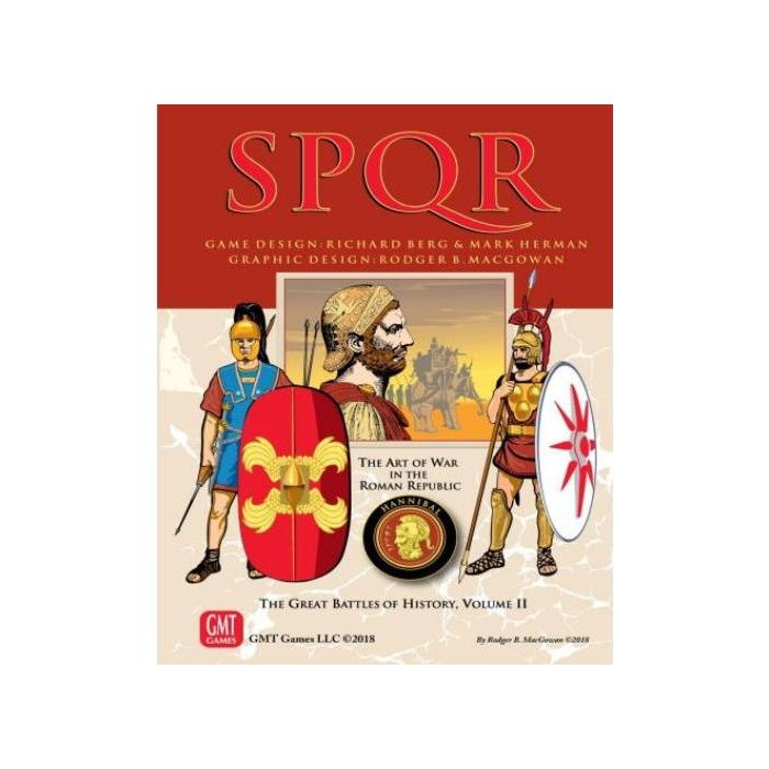SPQR (Deluxe Edition, 3rd Edition, 2nd Printing) Board Game - image 1 of 1