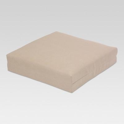 Outdoor Square Deep Seat Cushion - Tan - Threshold™