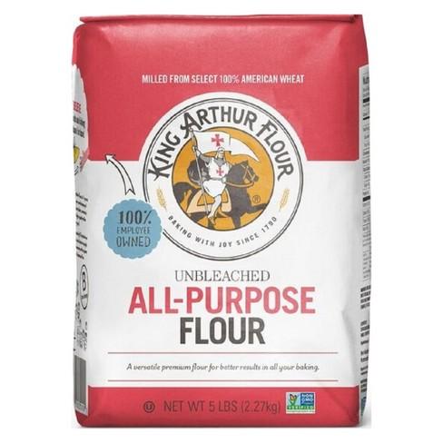 King Arthur Flour Unbleached All-Purpose Flour - 5lbs : Target
