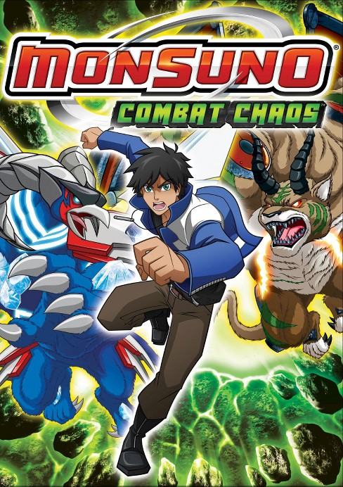 Monsuno:Combat chaos (DVD) - image 1 of 1