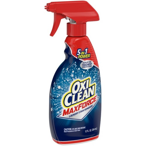Oxiclean Max Force Laundry Stain Remover Spray 12 Oz Target