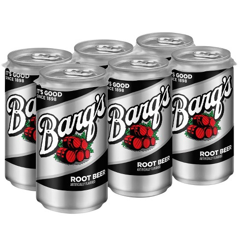 Barq's Root Beer - 6pk/7.5 fl oz Mini-Cans - image 1 of 3