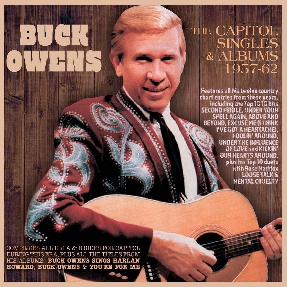 Buck Owens Capitol Singles Albums 1957 62 Cd