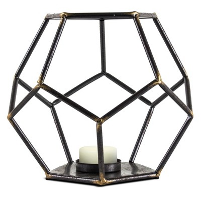 Decorative Candle Holder Brown - E2
