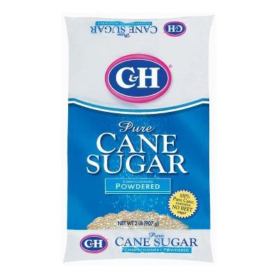 C&H Pure Cane Powdered Sugar - 2lbs
