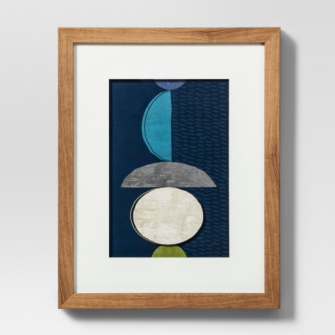 Framed Abstract Blue Wall Print 11 X 14 Project 62 Target