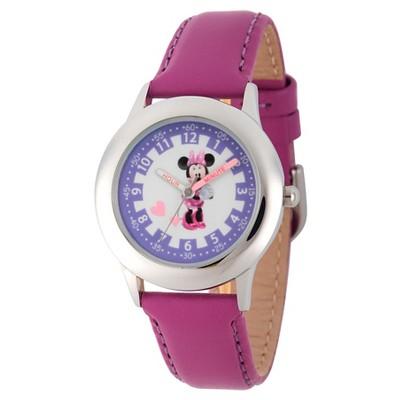 Disney Princess Minnie Mouse Kids' Watch - Purple
