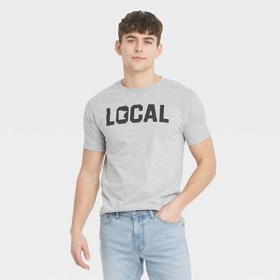 Men's Short Sleeve Minnesota Local Graphic T-Shirt - Awake Gray