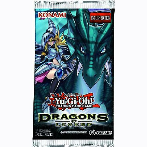 YuGiOh Dragons of Legend Booster Pack - image 1 of 1