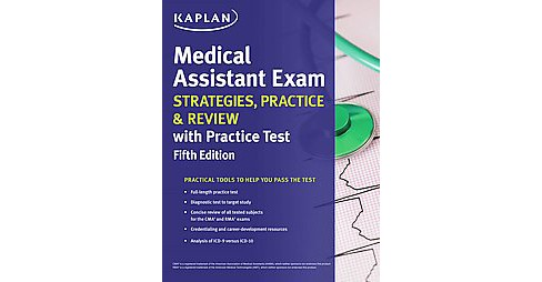 Kaplan Medical Assistant Exam : Strategies, Practice & Review With Practice Test (Paperback) - image 1 of 1