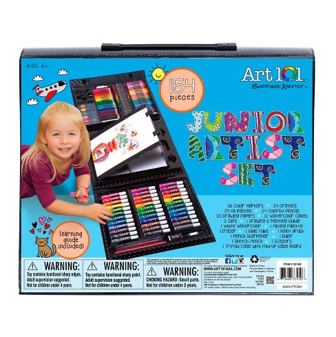 Kid's Tri-fold Art Set 154pc Art 101 - image 1 of 6