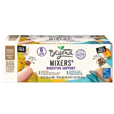 Purina Beyond Mixers Digestive Support Chicken & Cod Wet Dog Food - 3oz/6ct Variety Pack
