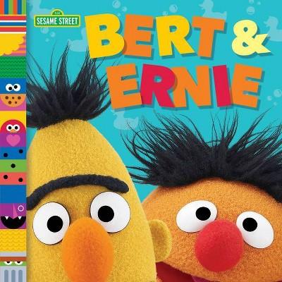 Bert & Ernie (Sesame Street Friends) - by  Andrea Posner-Sanchez (Board Book)