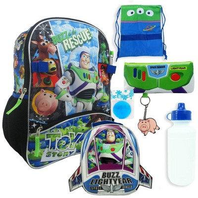 """Toy Story 16"""" Kids' Backpack   7pc Set by 7pc Set"""