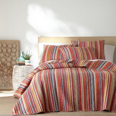 Uluru Stripe Quilt and Pillow Sham Set - Levtex Home
