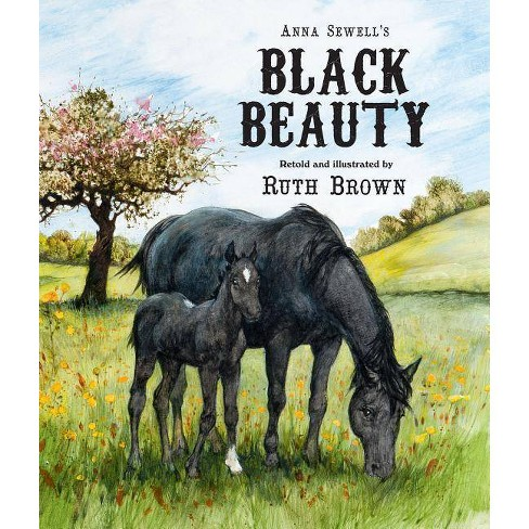 Black Beauty - (Andersen Press Picture Books (Hardcover)) by  Ruth Brown & Anna Sewell (Hardcover) - image 1 of 1
