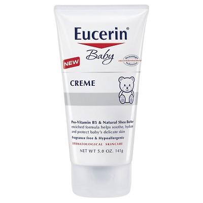 Eucerin Unscented Baby Crème - 5oz