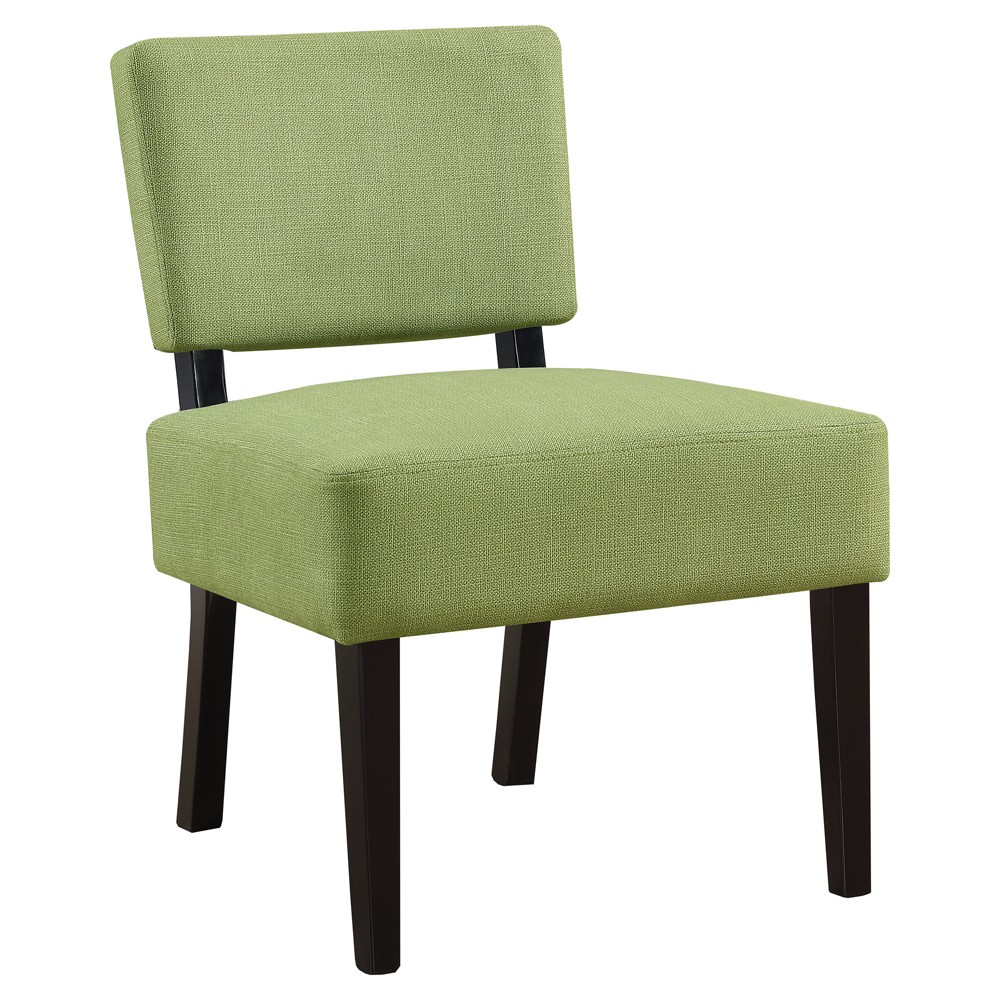 Accent Chair Lime Green Fabric - EveryRoom
