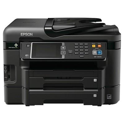 Epson WorkForce WF-3640 Wireless All-in-One Printer