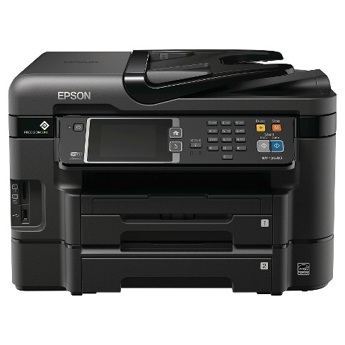 Epson WorkForce WF-3640 Wireless All-in-One Printer - image 1 of 6