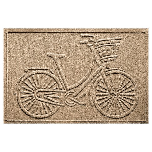 Bungalow Flooring Aqua Shield Nantucket Bicycle Floormat - image 1 of 1