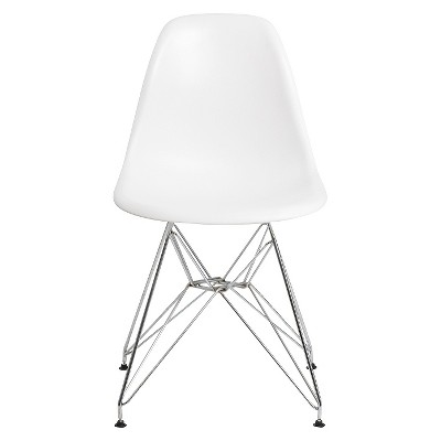 Molded plastic furniture Sculptural About This Item Target Aeon Paris Molded Plastic Chair White set Of 2 Target