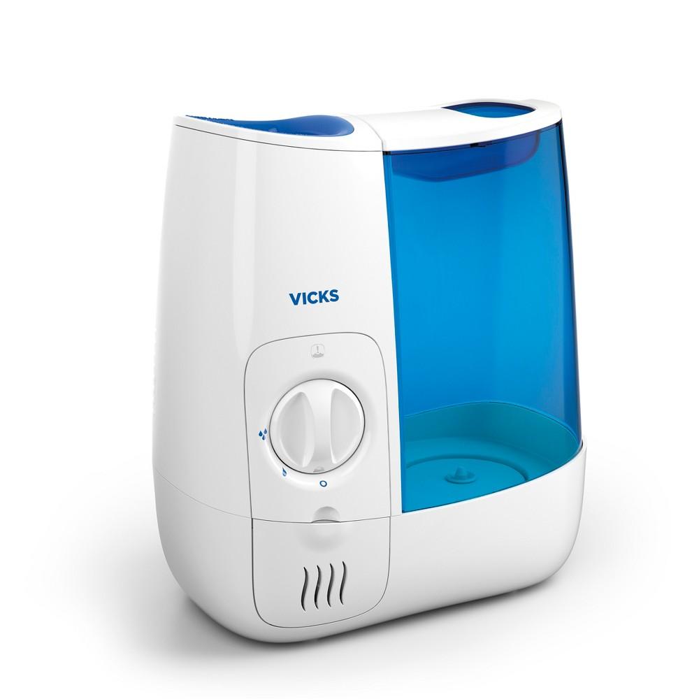 Vicks Warm Moisture Humidifier White Blue