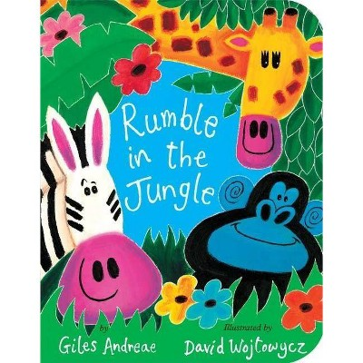 Rumble in the Jungle (Reprint)(Board)by Giles Andreae