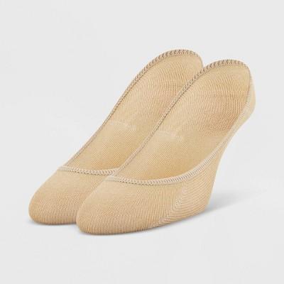 Peds Women's Extended Size 2pk Coolmax Liner Socks - 10-12